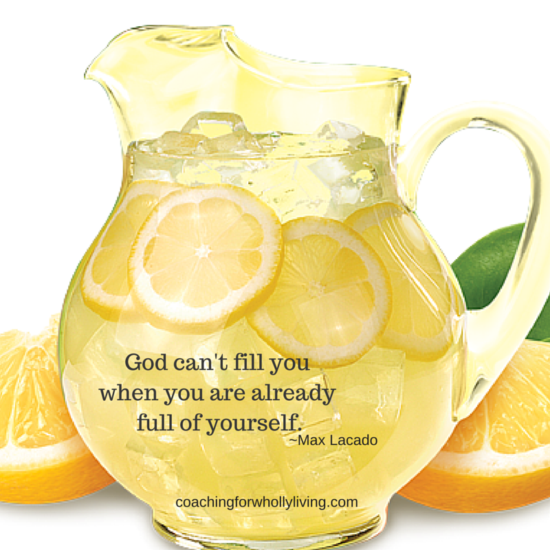 lemonade pitcher God can't....